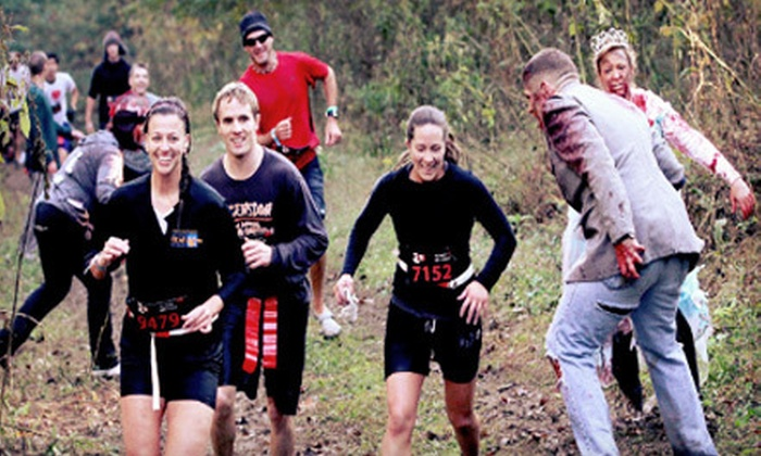 The Running Dead 5K - Council Bluffs: $25 One Race Registration for The Running Dead 5K at Westfair Fairgrounds on Saturday, October 27 ($50 Value)