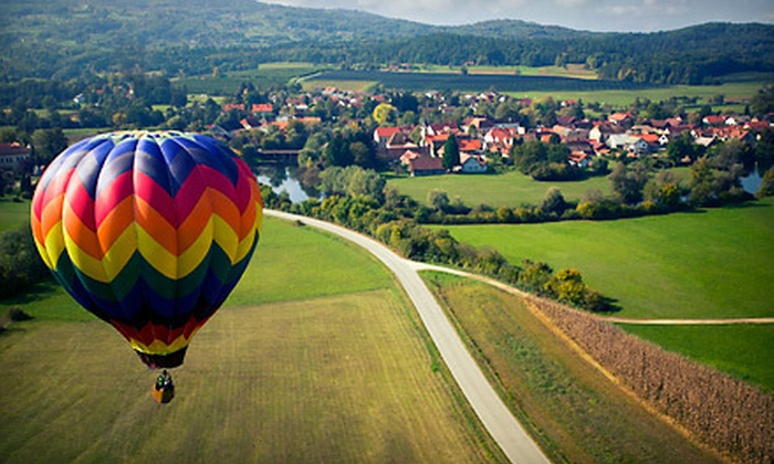Hard Times Ballooning - Summit: $299 for a Hot Air Balloon Ride for Two from Hard Times Ballooning ($550 Value)