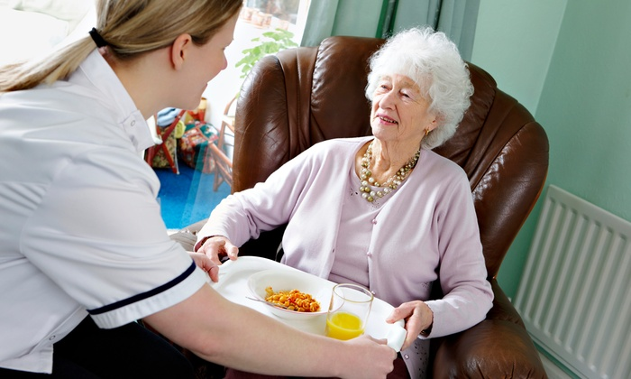 Vital Angels Home Care - Cleveland: 5 or 10 Two-Hour Senior-Care Visits from Vital Angels Home Care (52% Off)