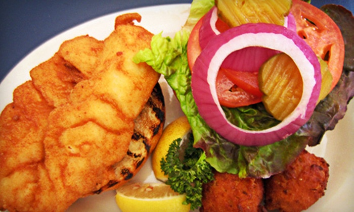 Three Fishermen Seafood - Multiple Locations: Fresh Seafood Cuisine for Dinner or Lunch at Three Fishermen Seafood (Half Off)