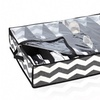 Black Chevron Under-the-Bed 12-Pair Shoe Organizer