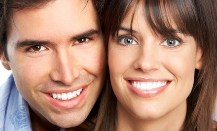 30- or 45-Minute Million Dollar Smile Teeth-Whitening Package (Up to 79% Off)