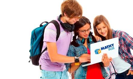Curso online de matemáticas de 1 o 3 meses desde 12,90 € en MathyPlus