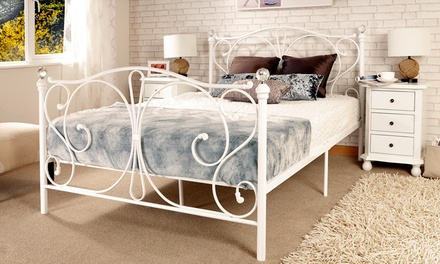 Crystal bedrame groupon goods for Bed frame and mattress deals