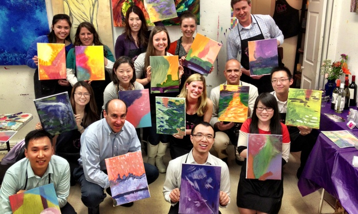 The Art Studio NY - Manhattan: One or Three BYOB Art Classes for One or Two, or Private Party for Up to 10 at The Art Studio NY (Up to 60% Off)