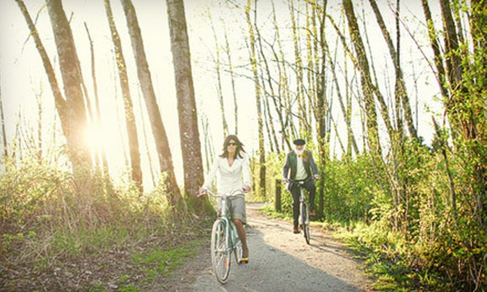 Fort Langley Cyclery - Langley: Full-Day Bicycle Rental for Two or Four Adults from Fort Langley Cyclery (Up to 54% Off)