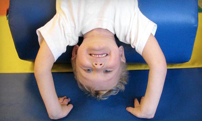 Tumble Time - Kalamazoo: Gymnastics or Cheerleading Party Packages for Up to 18 Kids from Tumble Time (Up to 55% Off)