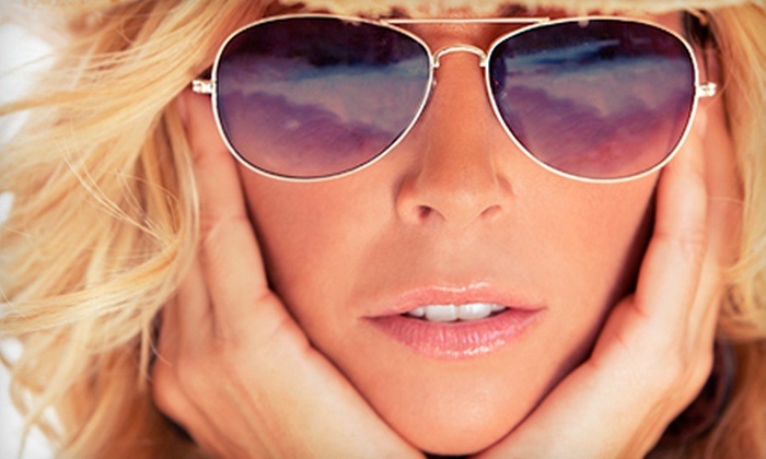 Simply Sun Tanning - Morningside - Lenox Park: One or Three VersaSpa Spray Tans or One Spray Tan with a Tanning-Bed Session at Simply Sun Tanning (Up to 57% Off)
