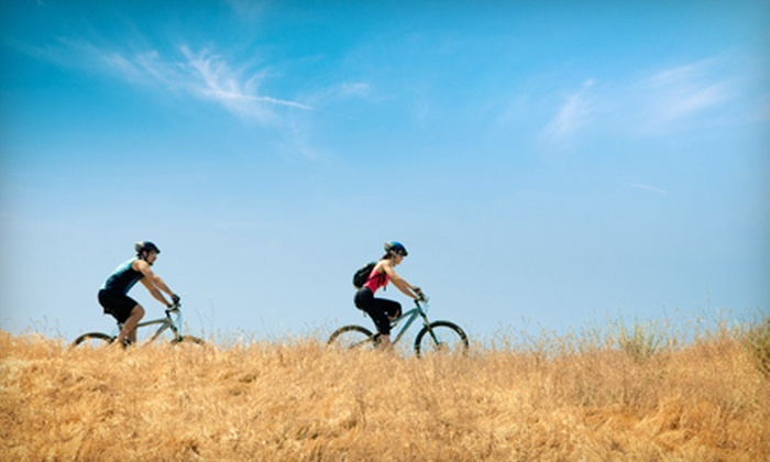 Blue Sky Adventures - Wanship: Two-Hour Mountain-Bike Tour with Snack for Two or Four from Blue Sky Adventures (Up to 57% Off)