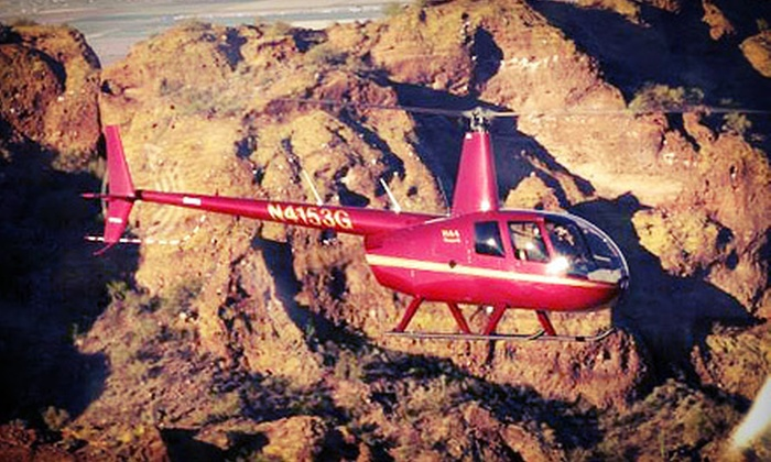 KMB Helicopters - Mesa: 30-Minute Helicopter Tour for One or Two from KMB Helicopters in Mesa (Up to 79% Off)