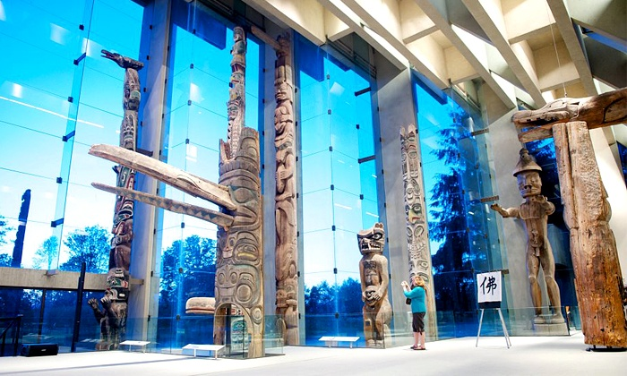 University of British Columbia Museum of Anthropology - Vancouver: University of British Columbia Museum of Anthropology Visit for One, Two, or Family of Up to Six (Up to 55% Off)