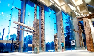 University of British Columbia Museum of Anthropology: University of British Columbia Museum of Anthropology Visit for One, Two, or Family of Up to Six (Up to 66% Off)