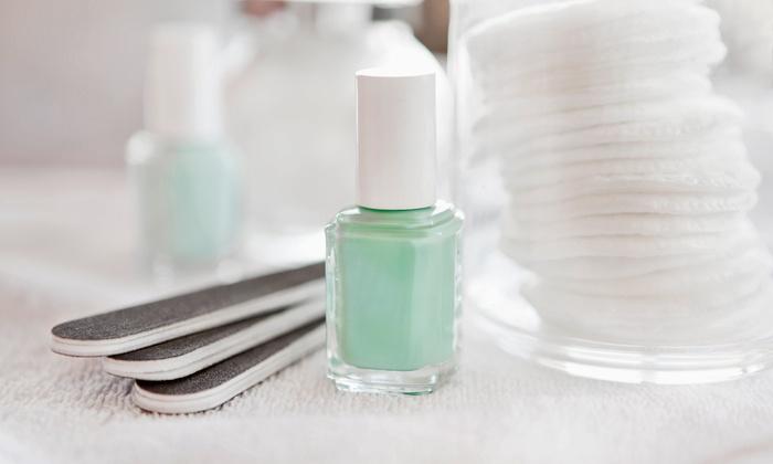 Babi Nails - Warminster: Reflexology Pedicure, Hot-Stone Mani-Pedi, or Gel Manicure at Babi Nails (Up to 51% Off)