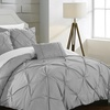 Armi Pinch-Pleated Microfiber Duvet Cover Set (3- or 4-Piece)