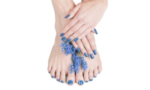 Stacey's Permanent Solutions: One or Two Mani-Pedis at Stacey's Permanent Solutions ( 51% Off)