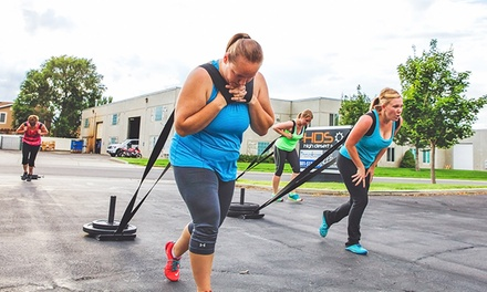 $29 for Four Weeks of Group Boot-Camp Classes at Amplified Fitness ($85 Value)