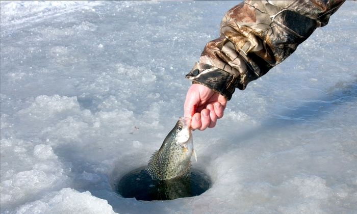 Trophy Ice Fish - Chicago: Eight-Hour Ice-Fishing Trip for Two or Four at Trophy Ice Fish (50% Off)