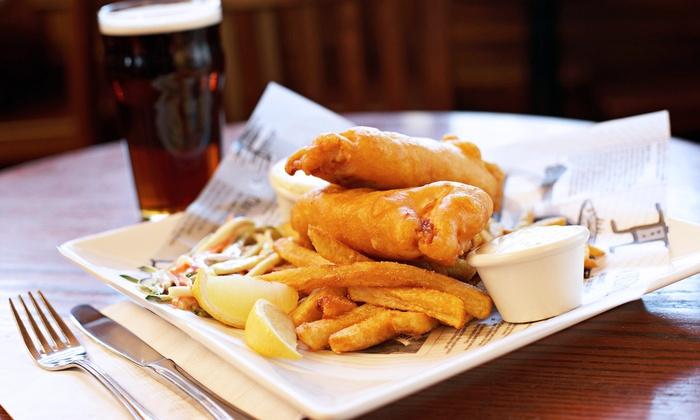 Nadine's Irish Mist - Huntington Beach: Pub Food at Nadine's Irish Mist (Up to 47% Off)