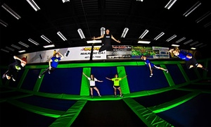 Rebounderz Orlando: One Hour or Unlimited Jump Time for 2 or 4 with Pizza or Birthday for 15 at Rebounderz Orlando (Up to 43% Off)