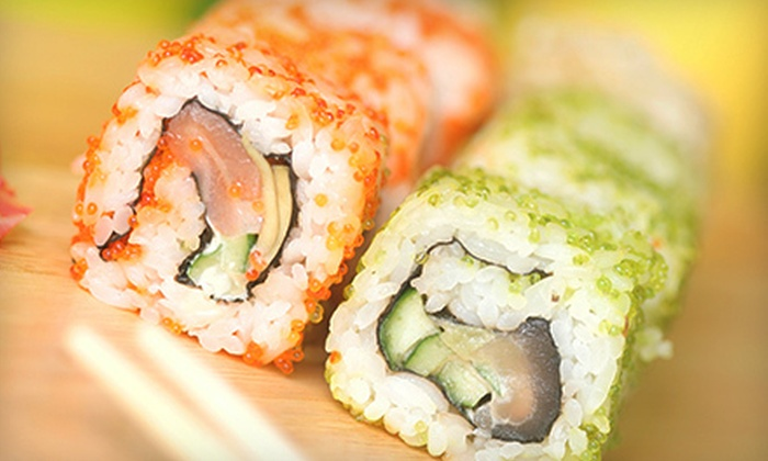Sushi Japan - Manchester: $20 for $40 Off Your Bill at Sushi Japan