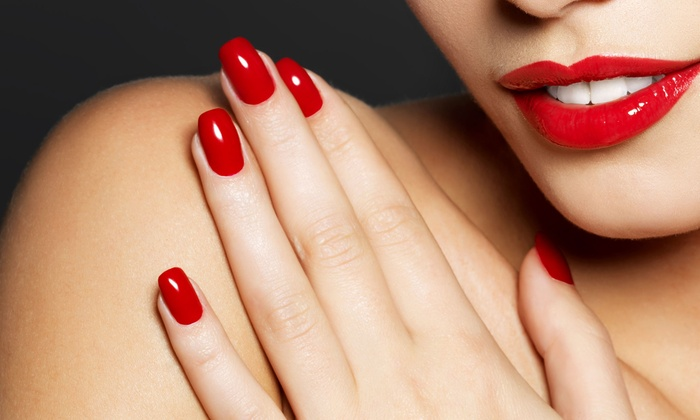 By Faith Nail Suite - Alsip: One or Two No-Chip Manicures or a Full Set of Acrylic Nails at By Faith Nail Suite (Up to 58% Off)