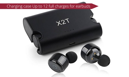$39.95 for Wireless Stereo Sport Earbuds with Charging Case