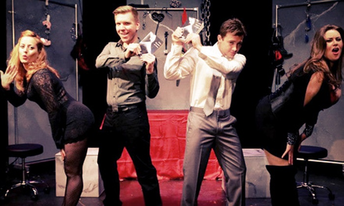 """Cuff Me: The Fifty Shades of Grey Musical Parody"" - Garden District: ""Cuff Me: The Fifty Shades of Grey Musical Parody"" at Baton Rouge River Center Theater on November 7 (Up to 41% Off)"