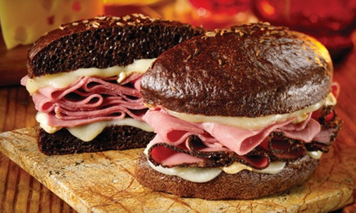 Schlotzsky's - Multiple Locations: $15 for Three Groupons, Each Good for $10 Worth of Sandwiches and Pizza at Schlotzsky's ($30 Total Value)