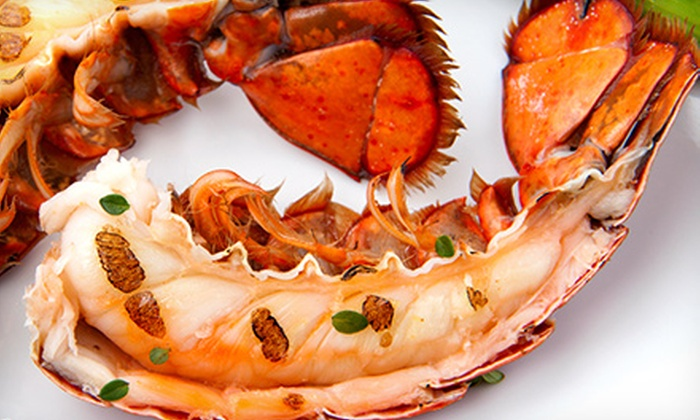 Otani Japanese Steak & Seafood - Multiple Locations: Lobster Meal or Calamari and Chicken Meal for Two at Otani Japanese Steak & Seafood (Half Off)