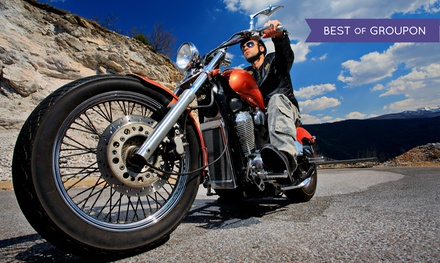 Basic or Experienced Motorcycle-Rider Course at Full Throttle Riding Academy (Up to 46% Off)