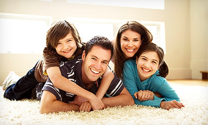 The Vacuum Expert - Fort Worth: Steam Carpet Cleaning for Three Rooms and One Hallway or an Entire House from The Vacuum Expert (Up to 75% Off)