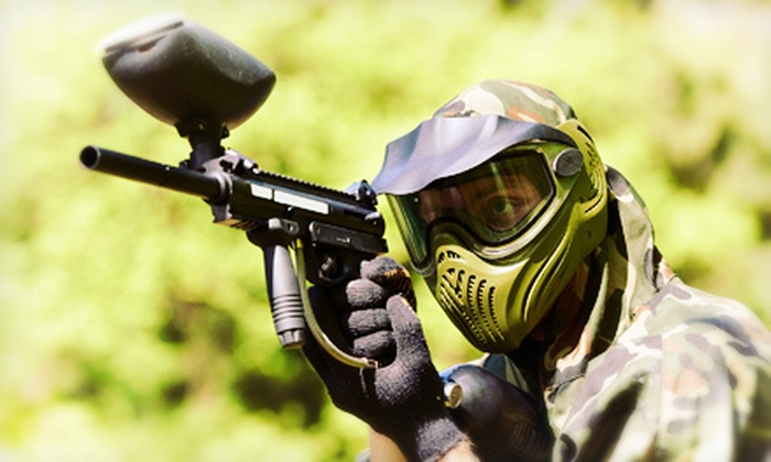 Southern Maryland Paintball - 4, Allens Fresh: Paintball Outing with Equipment Rental for Two or Four at Southern Maryland Paintball in Newburg (Up to 66% Off)