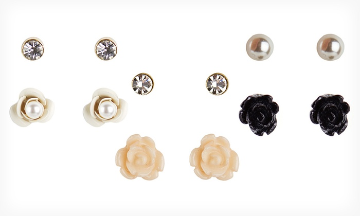 Betsey Johnson Earrings : Betsey Johnson Earrings (Up to 73% Off). Four Options Available.
