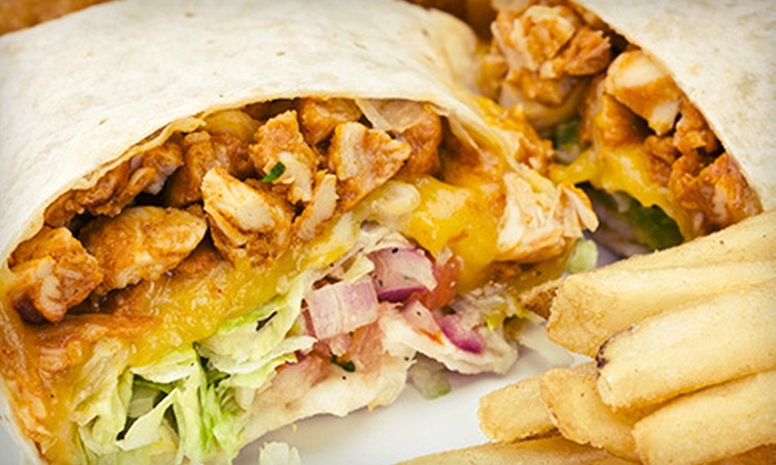 Rhino Bar & Grille - Newport: Pub Food and Drinks at Rhino Bar & Grille (Up to 58% Off). Two Options Available.