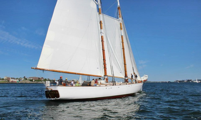 Classic Harbor Line - Downtown Boston: Schooner Sail for Two from Classic Harbor Line (Up to 23% Off). Three Options Available.