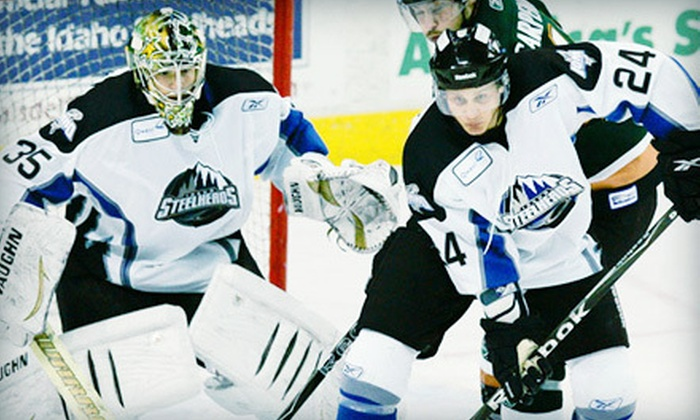 Idaho Steelheads - Downtown: $9 for One Ticket to an Idaho Steelheads Playoff Hockey Game at CenturyLink Arena ($18 Value)