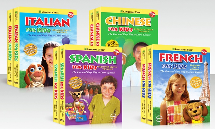 Language Tree Foreign Language for Kids Beginner DVD Sets: Language Tree Foreign Language for Kids Beginner DVD Sets. Multiple Languages Available. Free Shipping and Returns.