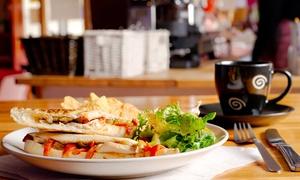 ESCOPAZZO: Menu colazione, pranzo, merenda o aperitivo analcolico per 2 persone da Escopazzo a Piazza Venezia (sconto fino a 50%)