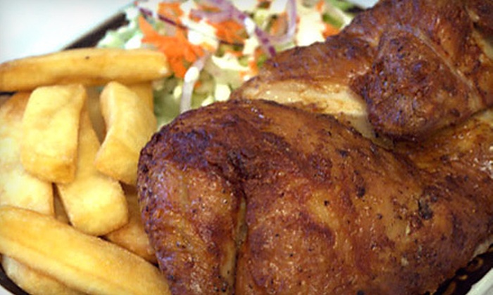 The Pollo Factory - Beaumeade: One or Two Peruvian Chicken Dinners with Salad and Sides at The Pollo Factory (Up to 55% Off)