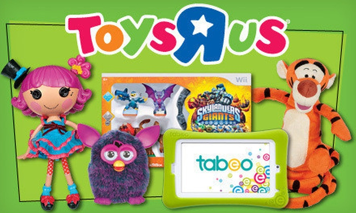 "Toys""R""Us and Babies""R""Us - Multiple Locations: $10 for $20 Worth of All Toys, Games, Electronics, and Kids' Clothing at Toys""R""Us and Babies""R""Us"