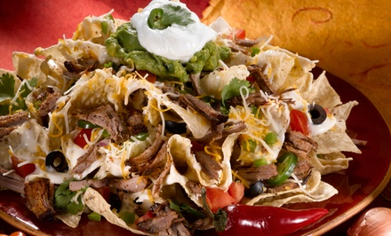 Tex-Mex Cuisine for Two or Four at Red Rocks Cafe & Tequila Bar (Up to 50% Off)