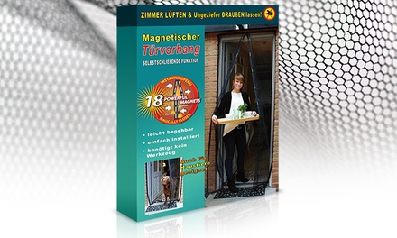 moskitonetz mit magneten groupon goods. Black Bedroom Furniture Sets. Home Design Ideas