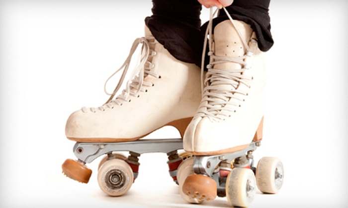 Palm Beach Skate Zone - Lake Worth: Roller Skating for Two or Four, or Roller Skate or Play Roller Hockey Program at Palm Beach Skate Zone (Up to 52% Off)