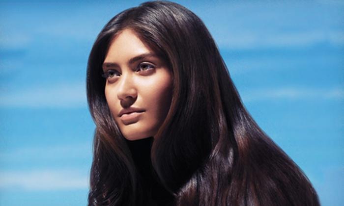 Origina Salon Spa - Franklin: Hair-Smoothing Treatment with Optional Haircut at Origina Salon Spa (Up to 75% Off)