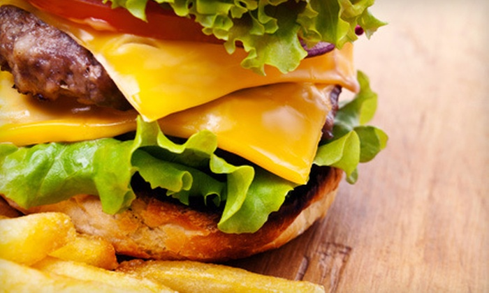 Sharps Restaurant & Sports Bar - North Overton,West: $10 for $20 Worth of Burgers, Buffalo Wings, and Bar Fare at Sharps Restaurant & Sports Bar