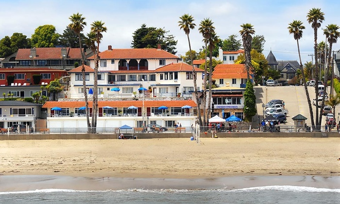The Casablanca Inn - Beach HIll: 1-Night Stay or 2-Night Package with Dining Credit, Wine & Romantic Gift Bag at The Casablanca Inn in Santa Cruz, CA