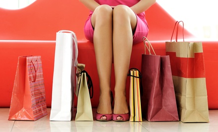 Boutique Shopping Tour for One from 'Tiques (Up to 44% Off )