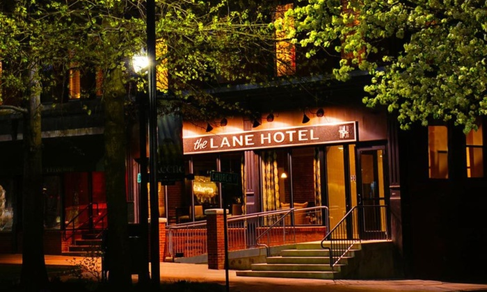 The Lane Hotel - Keene: One-Night Stay with a Bottle of Wine, Valid Sunday–Thursday at The Lane Hotel in Keene, NH