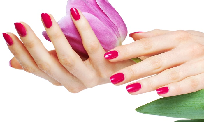 Modern Nails & Lashes - Fairfax: One or Two Gel Manicures with Paraffin-Dip Treatments at Modern Nails & Lashes (Up to 46% Off)