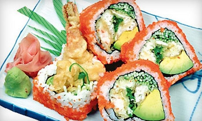 Ginza Japanese Restaurant - Wauwatosa: $15 for $30 Worth of Sushi and Japanese Fare at Ginza Japanese Restaurant in Wauwatosa